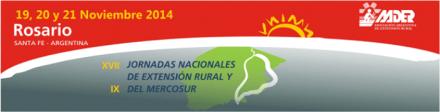 """XVII Jornadas nacionales de extensión rural y IX del Mercosur. El encuentro en la diversidad"""""""